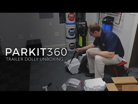 Parkit360 Trailer Dolly: Unboxing & Assembly