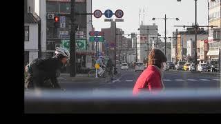 【前面展望】両備バス501系統上山坂経由宇野駅行き(岡山駅→上山坂→宇野駅)