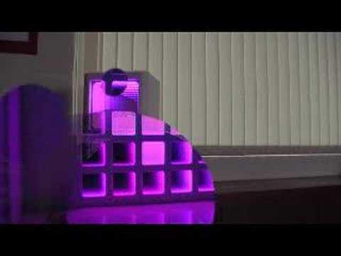 Application:led Glass Brick Youtube