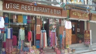 Hotel Utse, Thamel, Kathmandu, Nepal - Video Review (2013)
