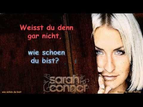 Sarah Connor   Wie schön du bist   Instrumental with Lyrics Remix by Rolf Rattay