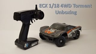 RC Unboxing: ECX Torment 1/18 Scale In-depth