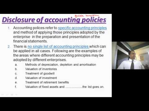 AS-1 AS-2 Accounting Standards. Video Classes for CMA INTERMEDIATE Video Lectures of ACCOUNTS.