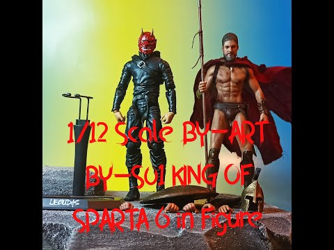BY-ART BY-S01 KING OF SPARTA 6 In Figure