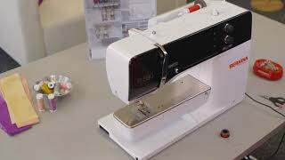 Sewing tutorial: first steps with the B 500, B 535, B 540, B 570 Q and B 590