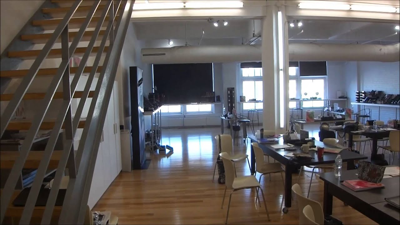 2 floors loft style office space downtown montreal for Shared office space montreal