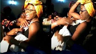 BIG BROTHER NAIJA 2018 • TOBI'S BILLIONAIRE PARENTS SPRAY ALEX WITH LOTS OF MONEY AS THEY PARTY
