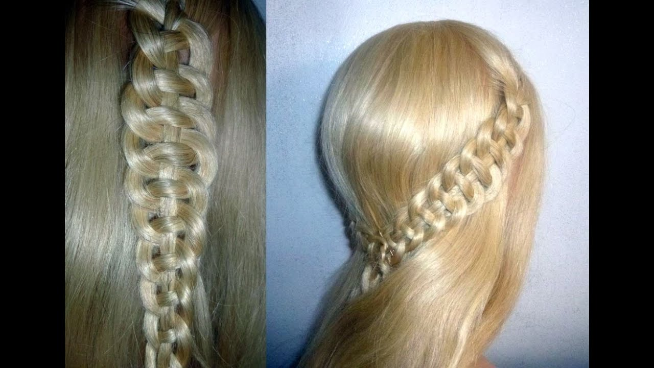 4 Str 228 Hnen Zopf Flechten Flechtfrisuren Braid With 4