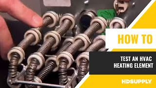 HVAC Heating Element Test - HD Supply Facilities Maintenance