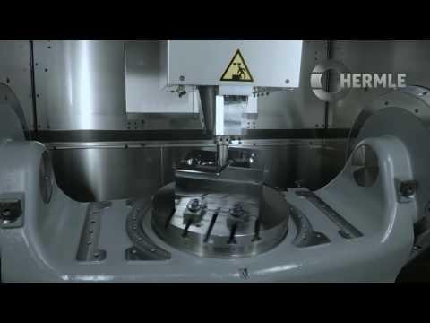Vero Software GmbH: Schmiedegesenk - 5-Achsen Bearbeitung | Hermle C42 U | CAM-System: WorkNC