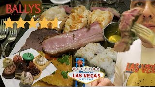 Eating At The BEST Reviewed BUFFET in LAS VEGAS (Sterling Brunch buffet)