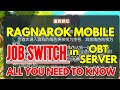 JOB SWITCHING IN OBT RAGNAROK MOBILE IMPLEMENTED TODAY. FINAL GUIDE