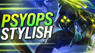 LL STYLISH | THE NEW PSYOPS ZED SKIN!