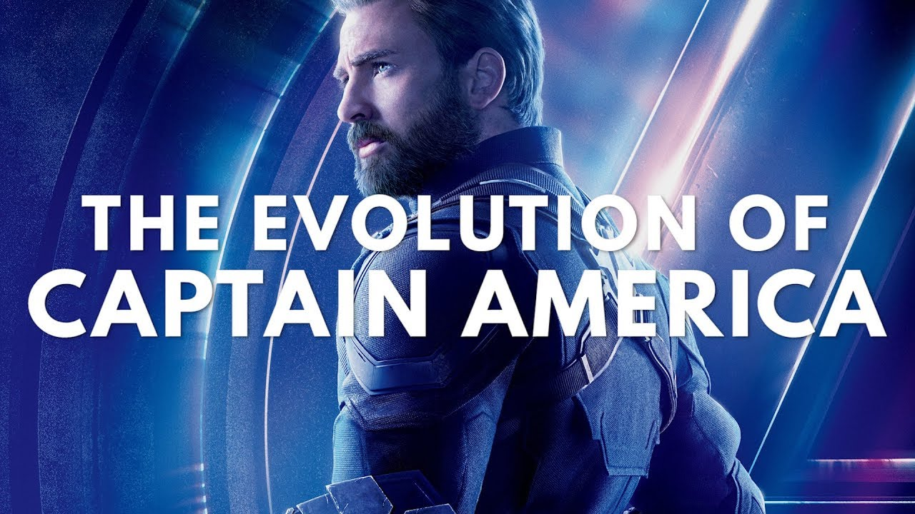 Evolution of Captain America in Movies & TV (1944-2018) with Avengers Infinity War