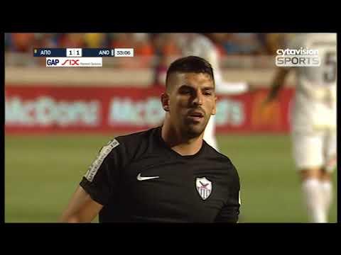 Βίντεο αγώνα: ΑΠΟΕΛ 2-1 ΑΝΟΡΘΩΣΗ (Πρωταθλητής 2017/2018)