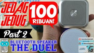 DUEL SPEAKER BLUETOOTH 100ribuan (Part 2) - Jesbod J10 - Unboxing & How to Pair / Connect