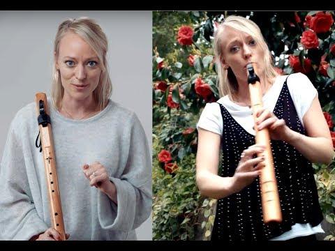 High Spirits Condor Bass Flute In D / Hip Hop Native Flute Song - Bevani Flute