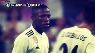 Vinicius Jr (Real Madrid) Vs Ac Milan (11/08/2018) HD