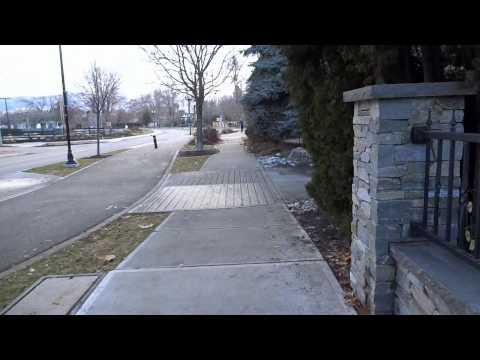 Let's Walk Down Abbott Street In Kelowna BC Canada