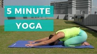 5 minute yoga   Beginners yoga