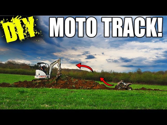 Building a Backyard Quad Track!!!