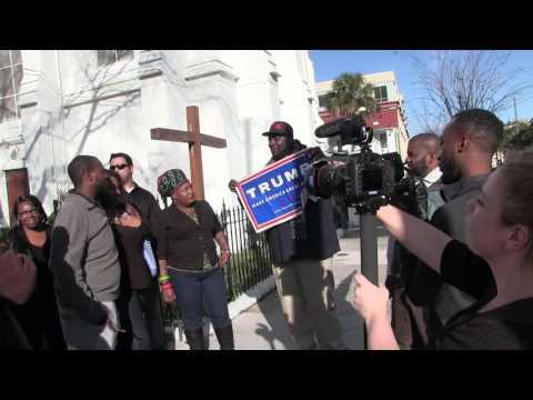 CHARLESTON, SC BBC Documentary Racism in america.