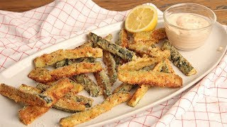 Zucchini Fries with Special Sauce (Low Carb)   Episode 1245