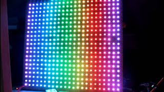 How to make large rgb led display at home DIY