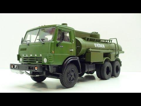Легендарные грузовики СССР №6 АЦ-9 -5320 MODIMIO