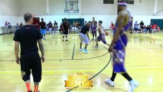 亞洲花式街頭籃球第一人 小夫 master jeng 到美國加入hot sauce的球隊court kingz 第一場球賽的其中一好球