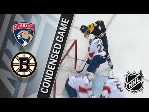 04/08/18 Condensed Game: Panthers @ Bruins