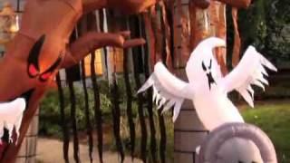 Graveyard Inflatable Archway Halloween Decoration