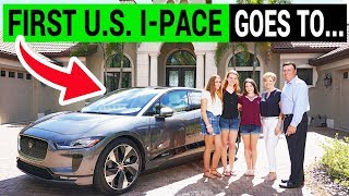 First Jaguar I-Pace Delivered In The Us