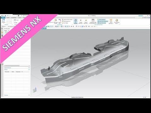 crossbeam-part-2---siemens-nx-12-training---surfaces