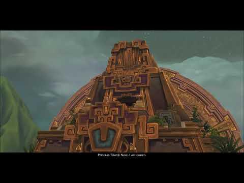 Patch 8.1.5 - Zandalari Troll Allied Race Intro Cinematic