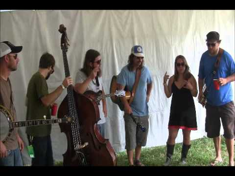 Interview & Exclusive Performance: Greensky Bluegrass at All Good 2011