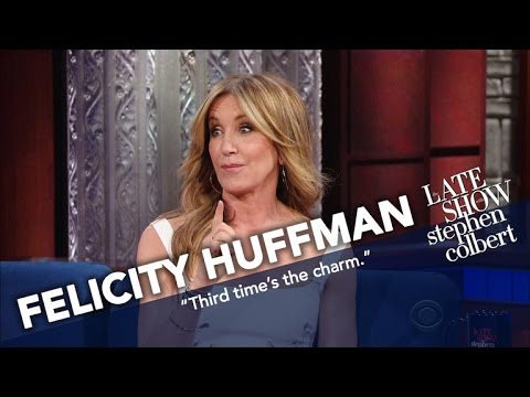 Felicity Huffman Married William H. Macy After He Asked A Third Time