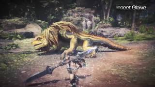Monster Hunter: World Technical Weapons video