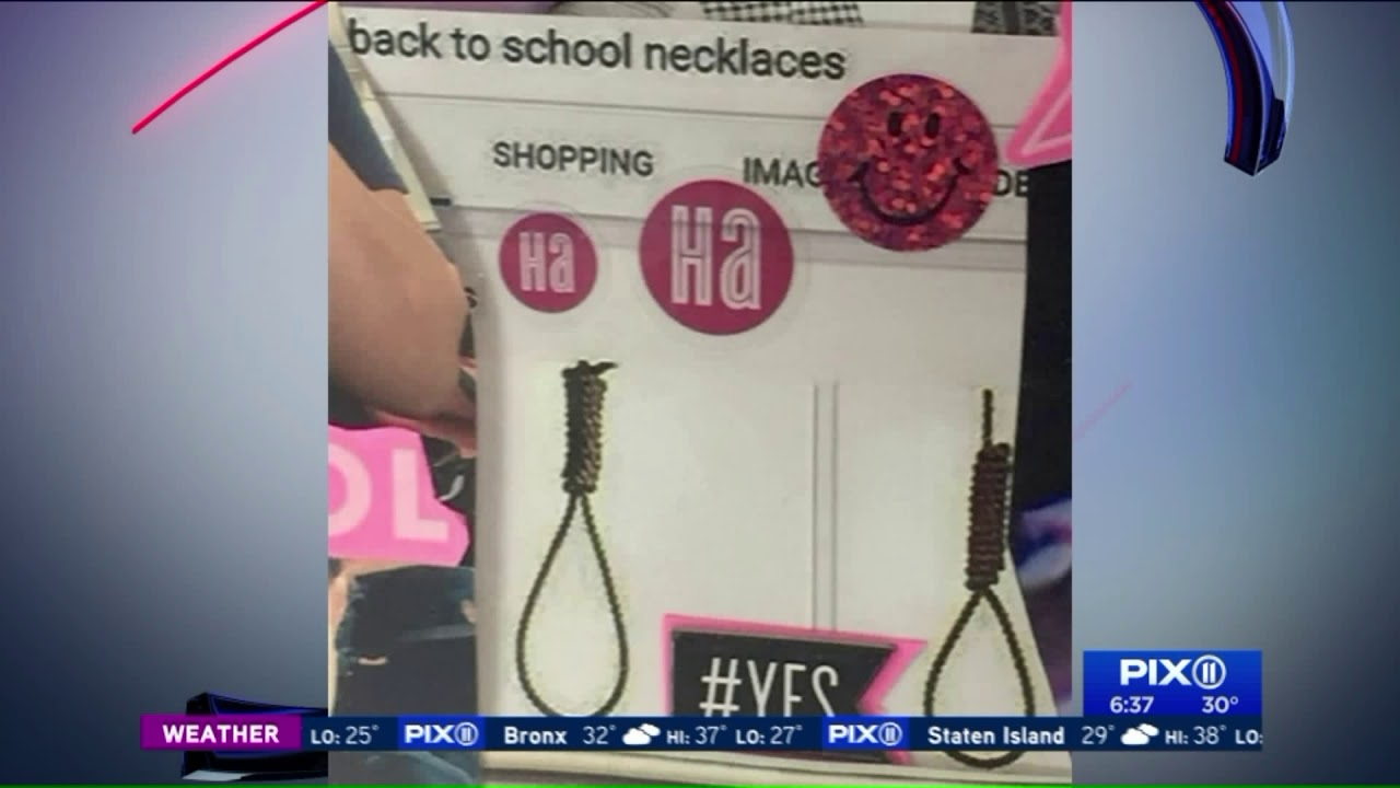 Nooses displayed in Long Island middle school classroom as `necklaces`