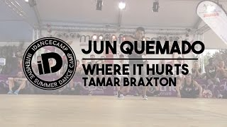 "Jun Quemado - ""Where It Hurts by Tamar Braxton"" - iDanceCamp 2014"