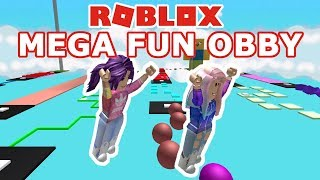 Roblox: Mega Fun Obby (1545 Stages) / We Complete Stages 92 to 180!