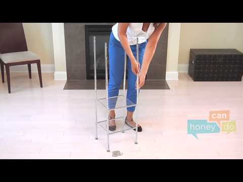 Honey-Can-Do BTH-03484 6-Tier Metal Tower Instruction Video