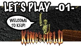 Let's Play! King's Field Japan -01- From Software's FIRST GAME EVER