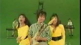 大江千里のデビュー曲を「ez」でパフォーマンス。1988年頃でしょう...