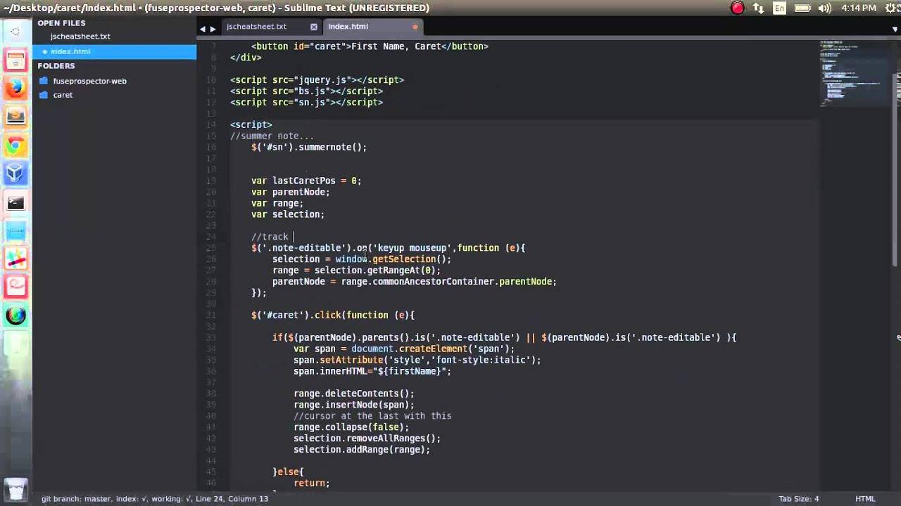 jquery, javascript - content editable div, insert text ...