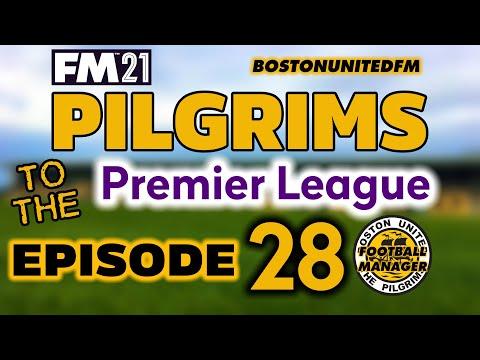 PILGRIMS TO THE PREMIER LEAGUE EP28 - TOP TWO PROMOTION CLASH - #FM21 |