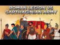 Armies and Tactics: Roman Legion Against Carthage and Hannibal