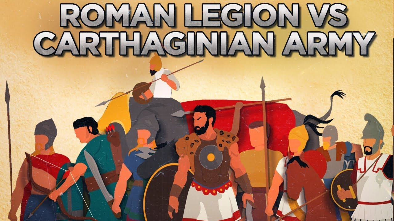 Armies and Tactics: Roman Legion Against Carthage and Hannibal