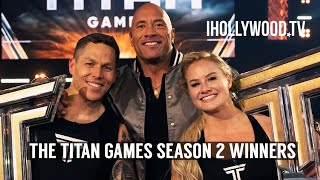 The Titan Games Season 2 Winners Dani Speegle & Matt Chan Speak Out | EXCLUSIVE