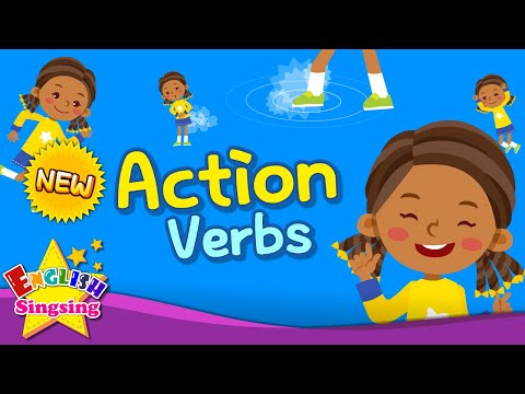 Kids Vocabulary - Action Verbs - Action Words - Learn English For Kids - English Educational Video